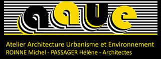 AAUE – Michel Roinné Hélène Passager – Architectes Logo